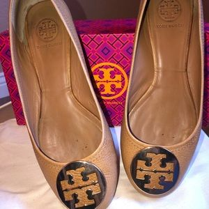 Authentic Tory Burch Iconic Flats